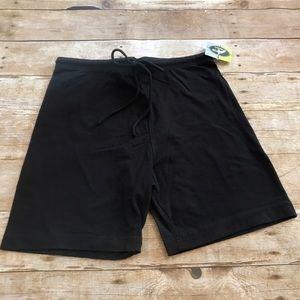 Nwt Athletech Black Lycra Shorts. Size xlarge